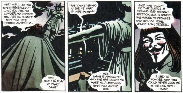 V for Vendetta, intertestualità di un capolavoro