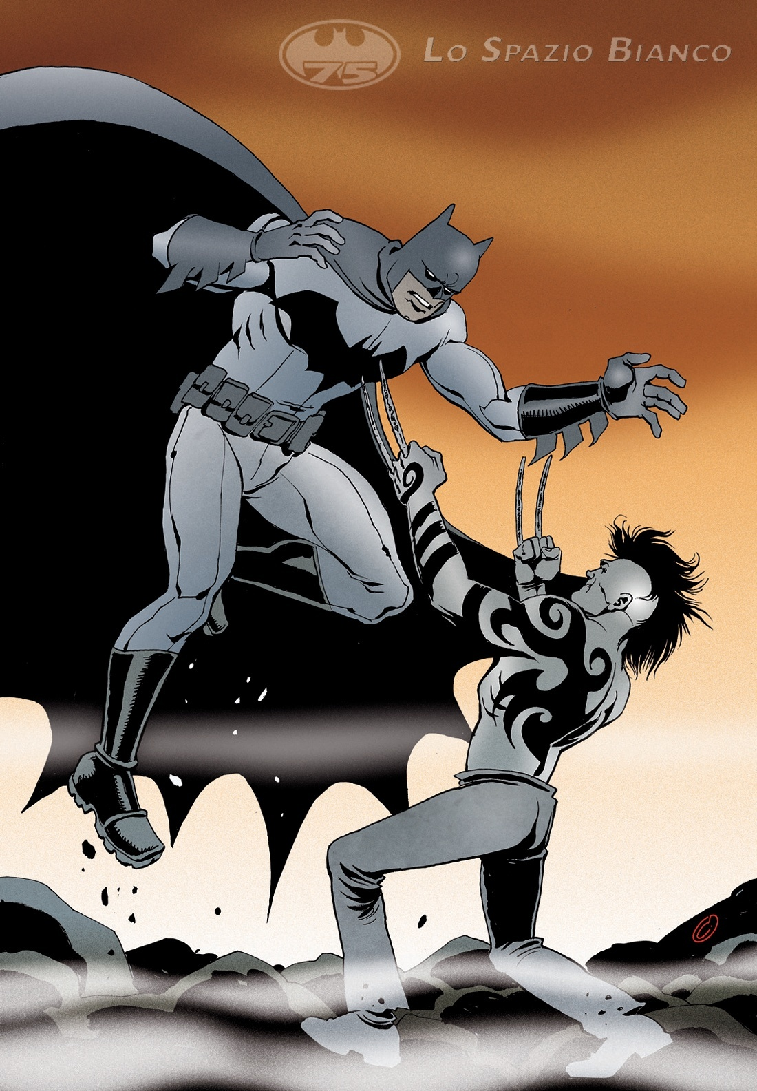Batman & Daken_Catacchio