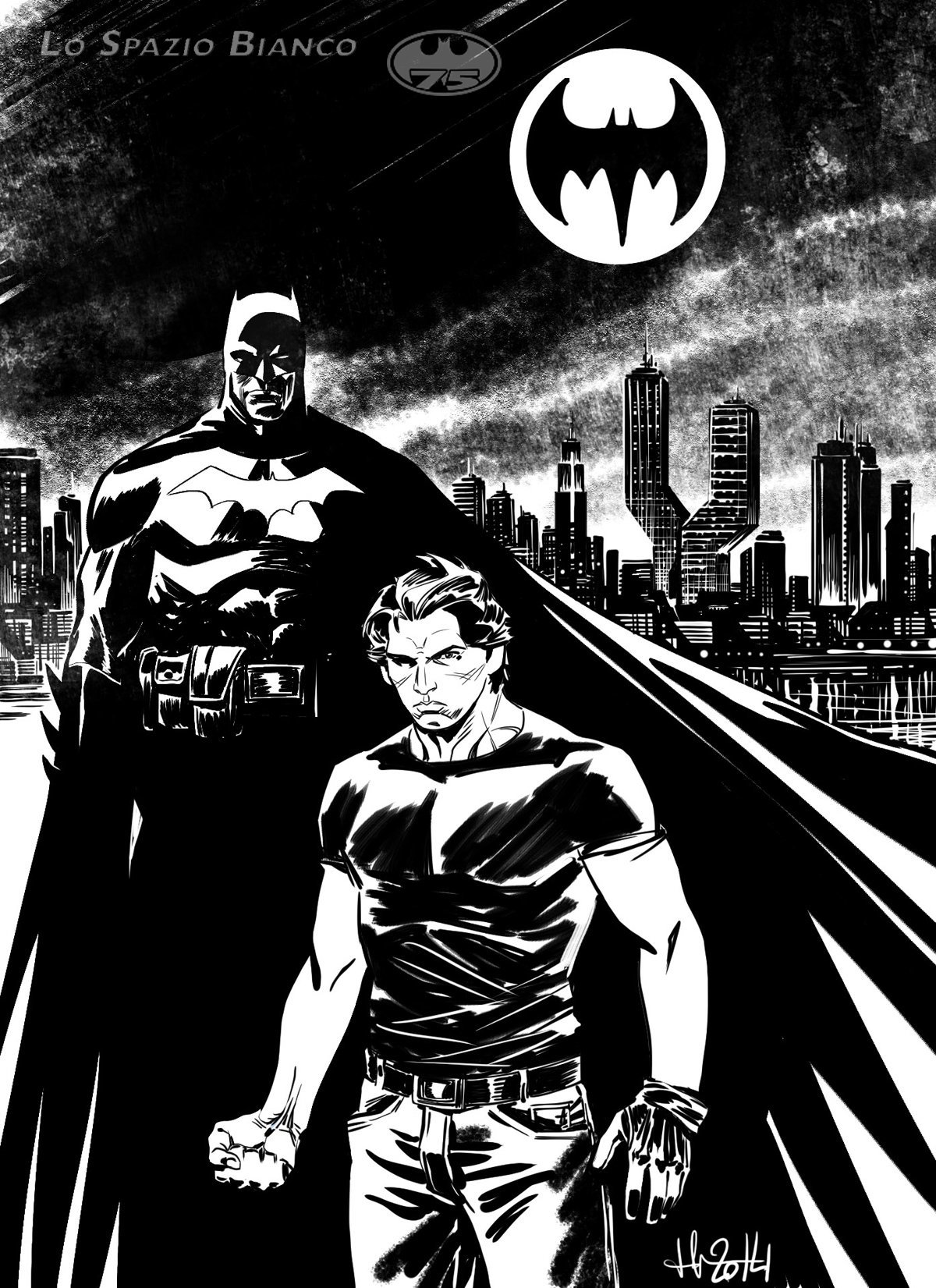 Batman & Lukas_Luca Casalanguida