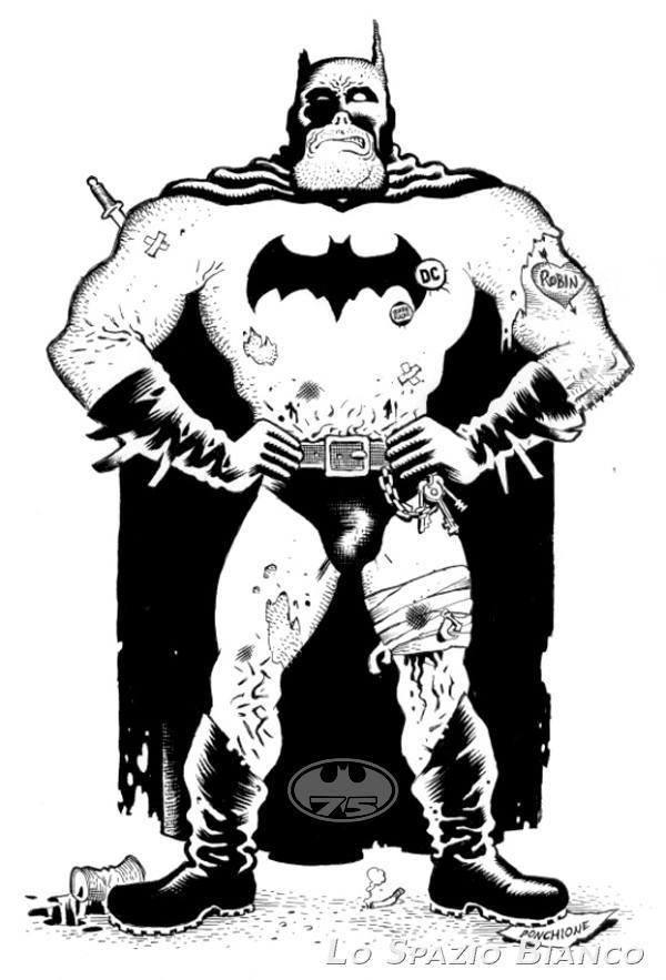 Speciale Batman 75: il Batman di Sergio Ponchione