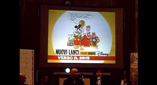 I nuovi lanci Disney-Panini: la conferenza a Lucca Comics 2014