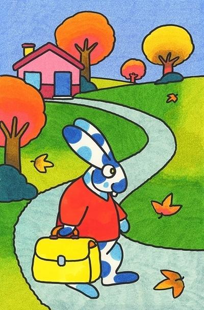 Coniglietto va a scuola - archivio quipos