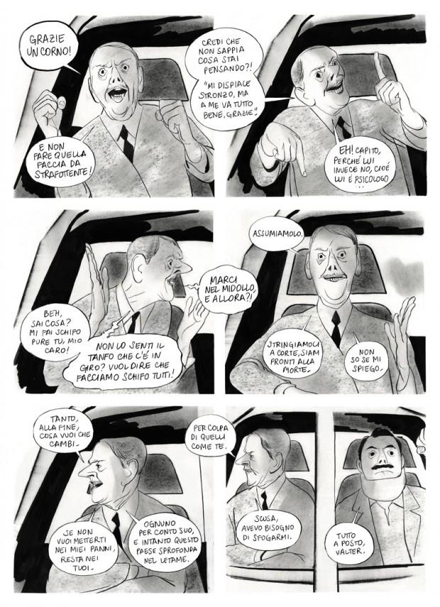 """""""C'è nella vita un tempo in cui essa rallenta vistosamente"""": su """"L'intervista"""", di Manuele Fior"""