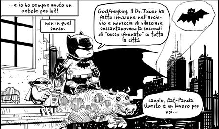 A Panda piace... fare i fumetti degli altri (e viceversa) (Bevilacqua, AA.VV.)