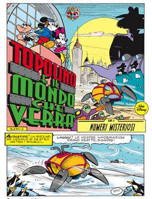 Topolino Platinum Edition: Mickey Mouse secondo Casty