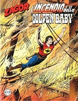 Zagor #592 - L'incendio della Golden Baby (Burattini, Verni)