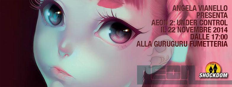 """Angela Vianello presenta il fumetto """"Aeon 2: Under Control"""" a Torino"""