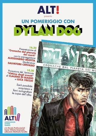 Un pomeriggio con Dylan Dog e Alessandro Bilotta a Torre del Greco