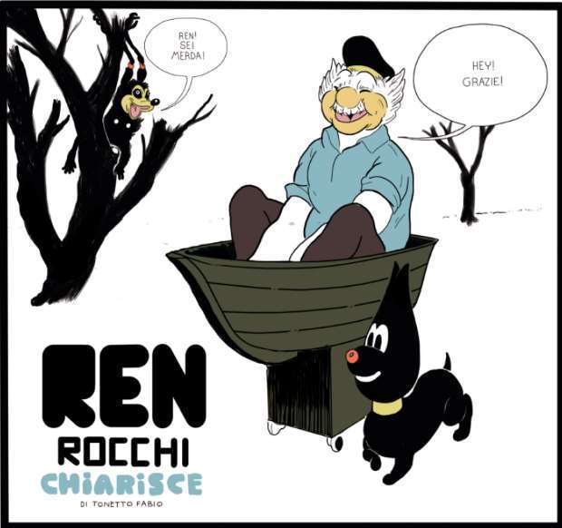 Ren Rocchi antologia (Fabio Tonetto)