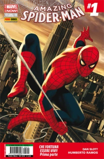 Amazing Spider-Man #1 (Slott, Ramos e AA.VV.)