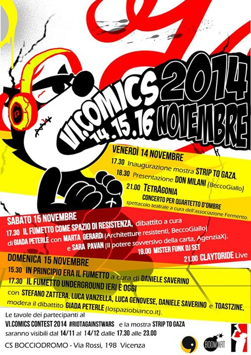 VI. Comics: un weekend a fumetti al CS Bocciodromo di Vicenza