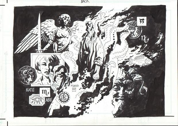 """""""I demoni di Mike Mignola"""". Valentino Sergi analizza l'opera di un maestro dei comics"""