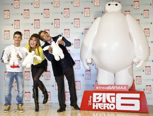 Big Hero 6 – Grande festa per Baymax alla première italiana