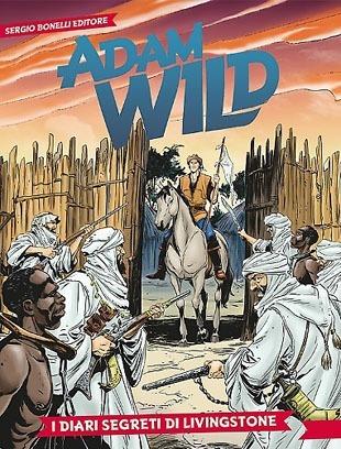 Adam Wild#3 – I diari segreti di Livingstone (Gianfranco Manfredi, Laci)