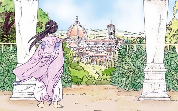 Memorie di Iris – Una notte al museo, la matita di Keiko Ichiguchi per una storia italiana