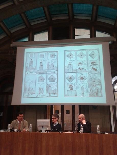 """""""Parole crociate e persone disegnate"""", FUN di Paolo Bacilieri a BilBOlBul"""