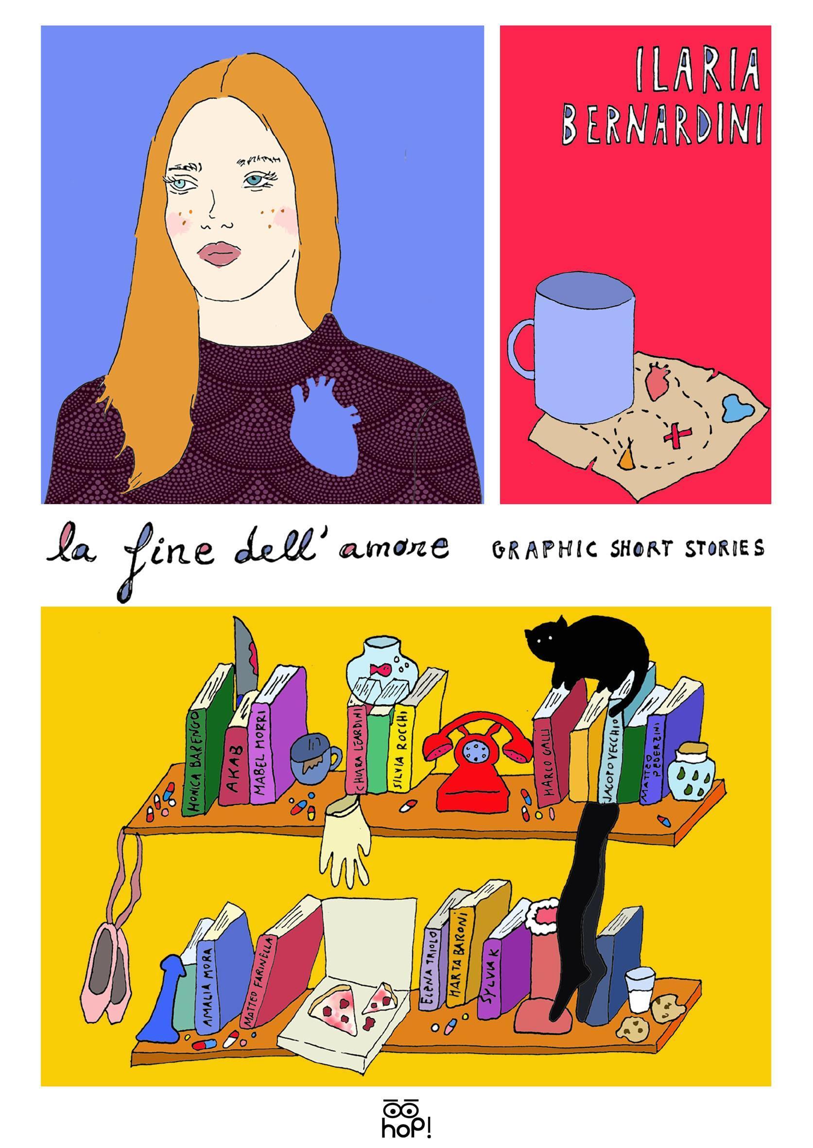 """""""La fine dell'amore"""": tredici graphic short stories per tredici talenti italiani"""