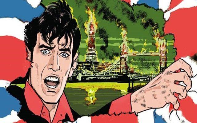 Dylan Dog #339 – Anarchia nel Regno Unito