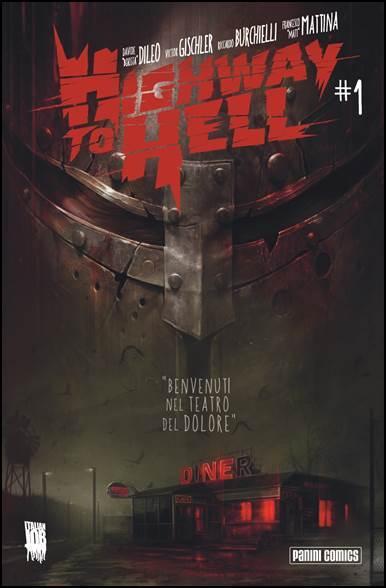 """Sabato 13 dicembre presentazione di """"Highway to Hell"""" al Panini Store di Bologna"""