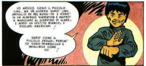L'uomo che incontrò il Piccolo Drago (Stefano Benni, Danilo Maramotti)