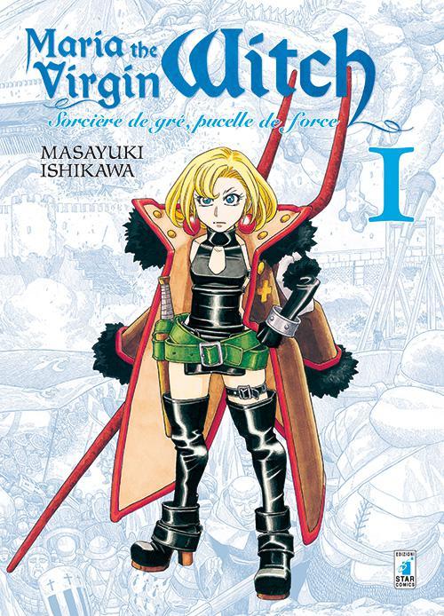 "Anteprima del nuovo manga Star Comics ""Maria The Virgin Witch"" di Masayuki Ishikawa"