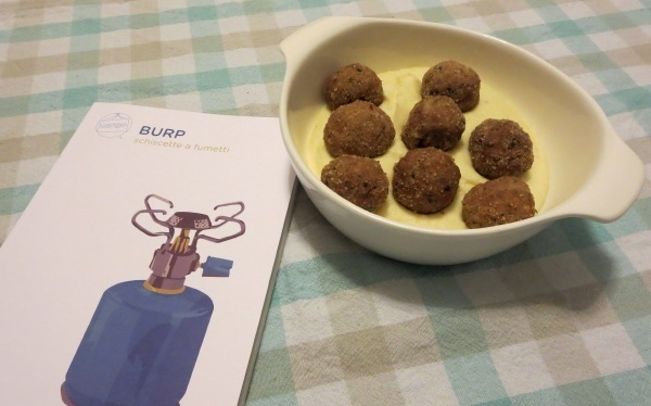 polpette e volume burp