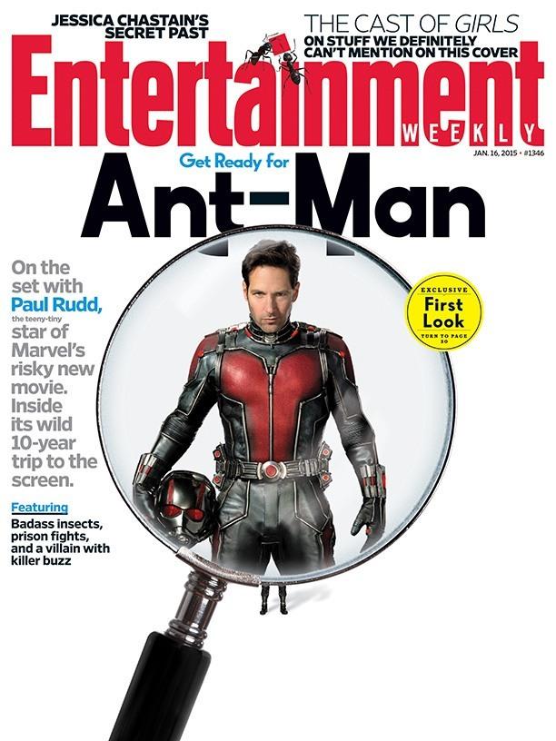 Ant-Man: prima immagine di Paul Rudd in costume