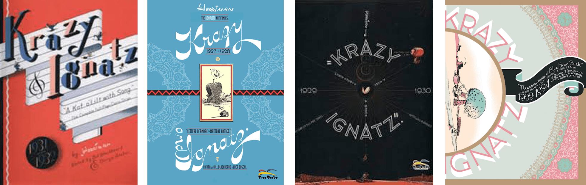 300-krazy-kat-varie-pubblicazioni_300: biblioteca essenziale del fumetto