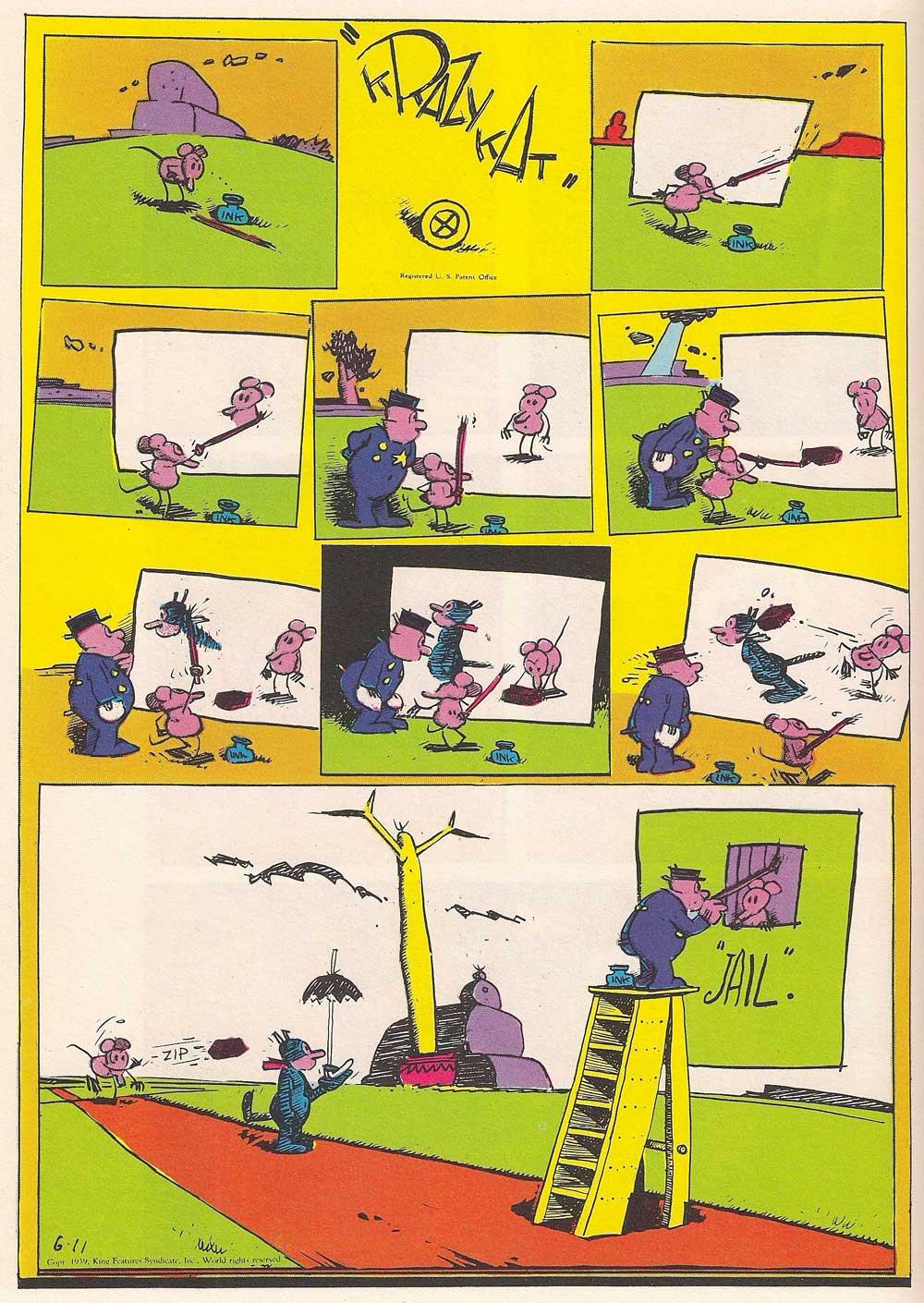 300-krazykat-color-2_300: biblioteca essenziale del fumetto