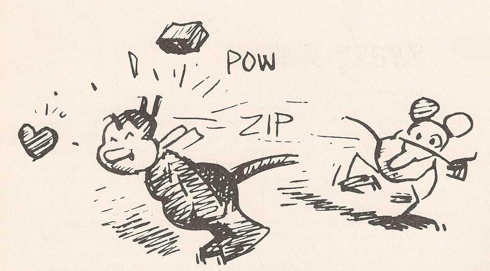 300-krazykat-lancio-del-mattone_300: biblioteca essenziale del fumetto