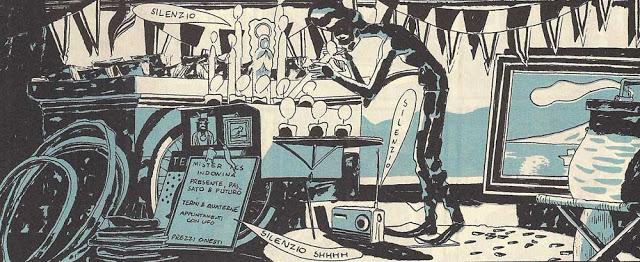 """""""5 è il numero perfetto"""", testi e disegni di Igort. Coconino Press, 2002."""