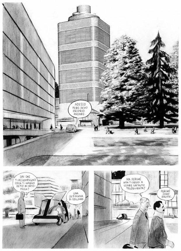 Intervista a Manuele Fior: tra fumetto, architettura e musica