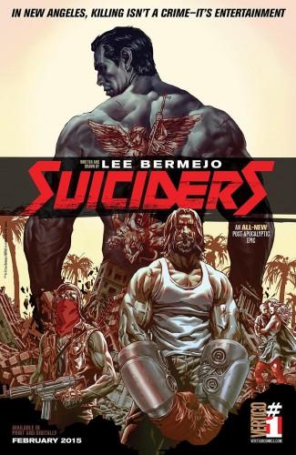"""Anteprima di """"Suiciders"""", il nuovo fumetto di Lee Bermejo"""