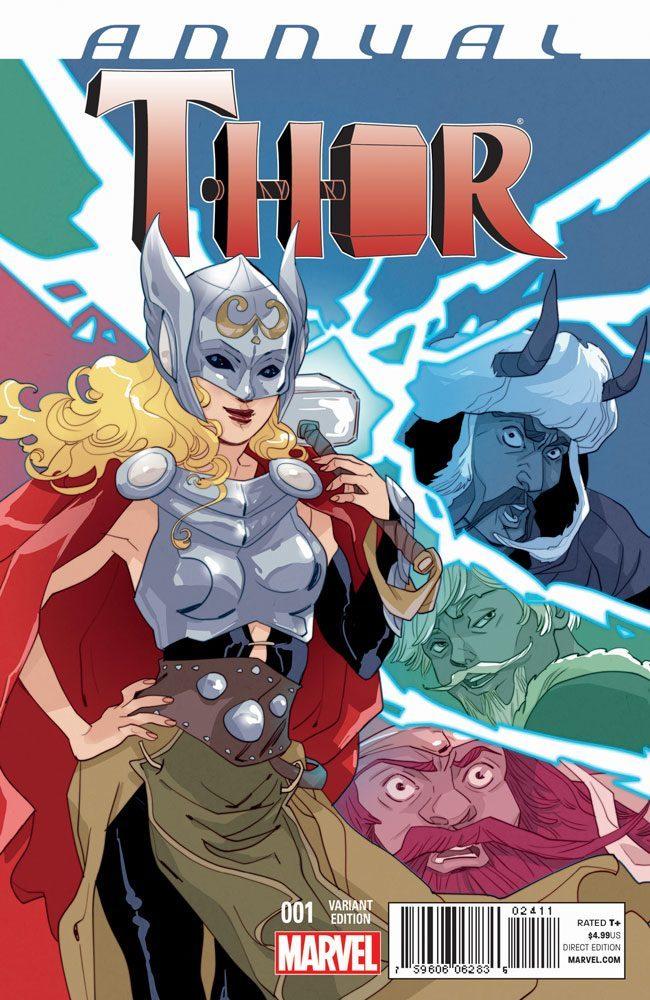 Anteprima dell'annual di Thor scritto da CM Punk