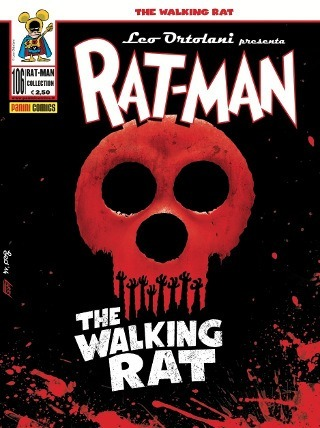Rat-Man #106 – The Walking Rat (Leo Ortolani)