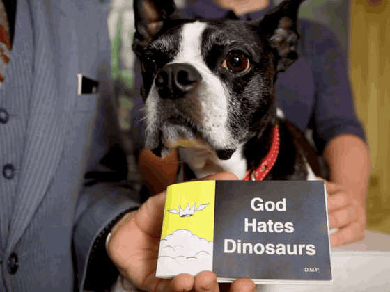 God Hates Dinosaurs: nuovo progetto di Doctor Popular finanziato su Kickstarter