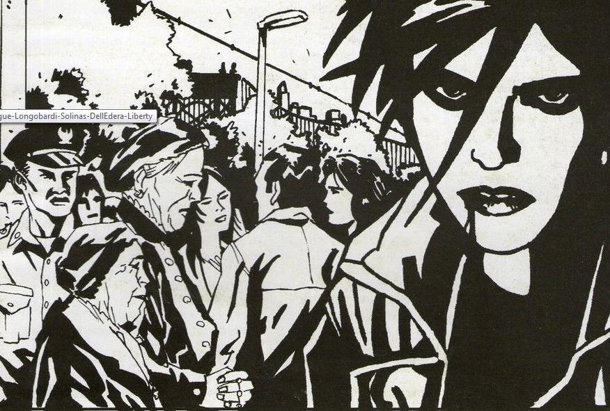 """""""Xiola #0 - Danzando con il Sangue"""" di Emiliano Longobardi, Antonio Solinas & Werther Dell'Edera. Liberty, 1999"""