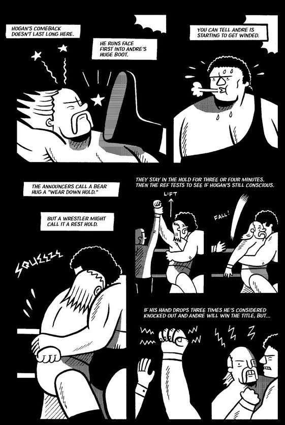André the Giant, vita di un wrestler ammantata di mito da Box Brown