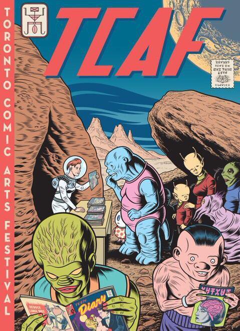 Svelata la locandina disegnata da Charles Burns per il Toronto Comic Arts Festival