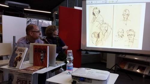 """Presentazione de """"Il pugile"""" di Reinhard Kleist"""