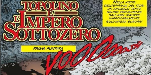 Topolino e l'impero sottozero: prima puntata – Topolino #3092 (Casty)