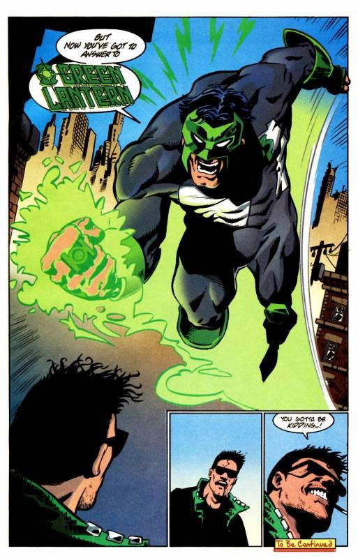 L'uso iconico del lettering, dal n. 10, p. 22. © DC Comics.