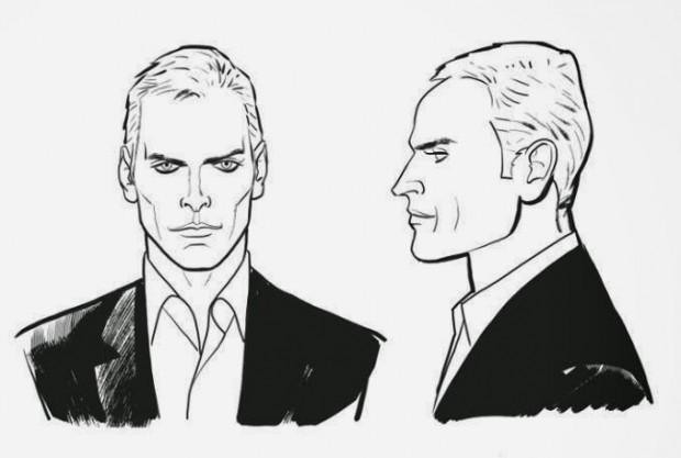Studi per il personaggio di John Ghost, di Angelo Stano © Sergio Bonelli Editore
