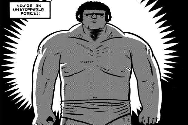 André the Giant, vita di un wrestler ammantata di mito da Box Brown_Recensioni