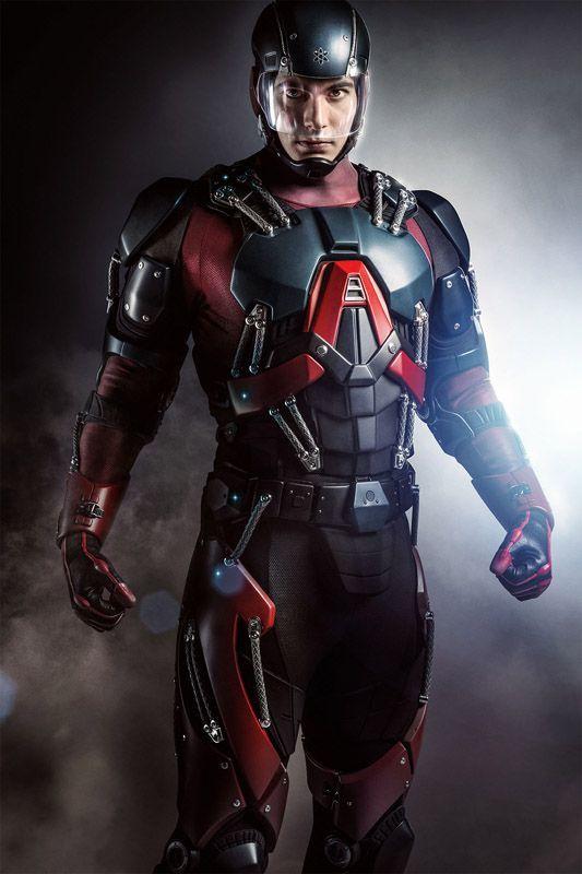 Arrow: Ecco Brandon Routh in costume da Atom