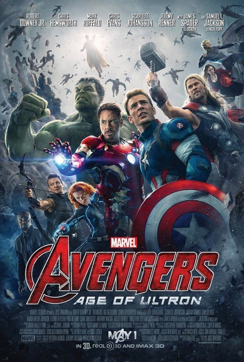 Nuovo poster ufficiale per Avengers: Age of Ultron