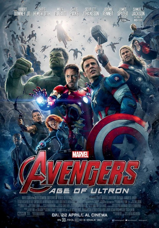 Avengers: Age of Ultron - I supereroi più potenti della Terra nel nuovo poster del film