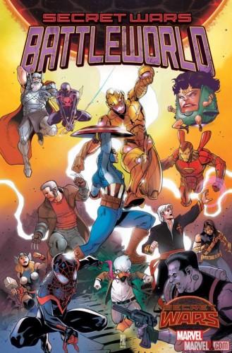 "La Marvel annunci la miniserie ""Secret Wars: Battleworld"""