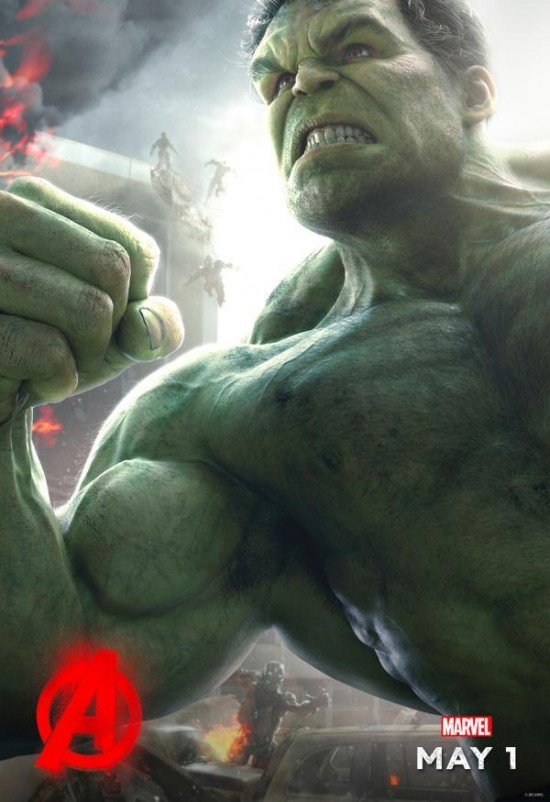 Avengers: Age of Ultron – Il character poster di Hulk