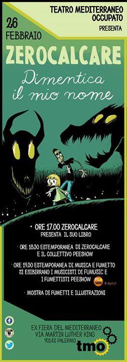 Zerocalcare e Pee Show al Teatro Mediterraneo Occupato